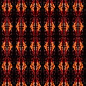 Tribal Totem Orange Black