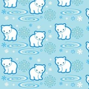 Polar Bear Light Blue