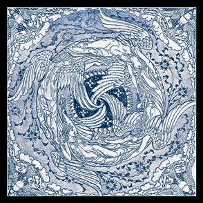 Four Strong Winds Furoshiki