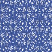 Vintage Belle - Blue Iris