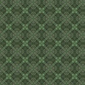 Little and Green: DiamondPlaid