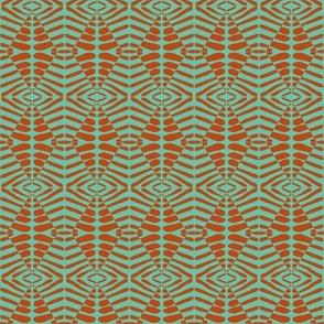 Sentries Orange Aqua