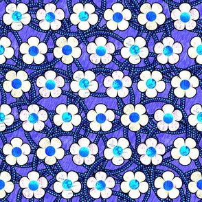 Winter Patterned Flowers