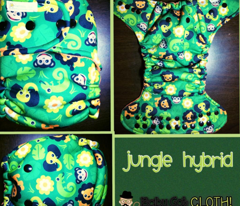 Kids jungle animals lion elephant monkey and lizard pattern