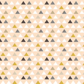 Mod Blush Gold Triangles