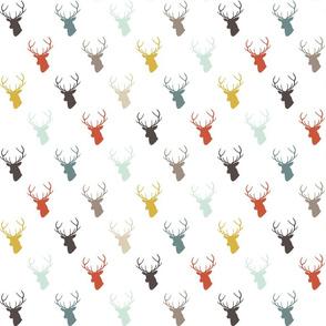 Modern Deer half scale