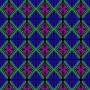 Royal Jewelry Blue Purple