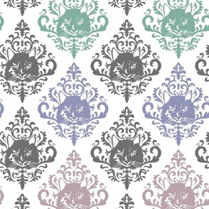 damask cat nap multi