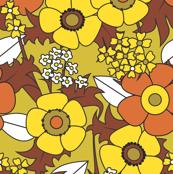 Anemones Brown