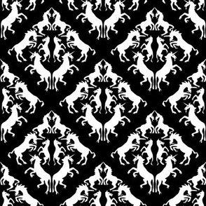 Unicorn Damask