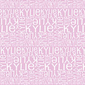 Personalised Name Design - Lilac Pink