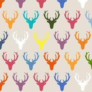 seaview simple deer heads