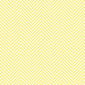 herringbone lemon yellow