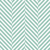 herringbone faded teal