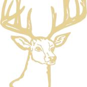 Brown Deer Head