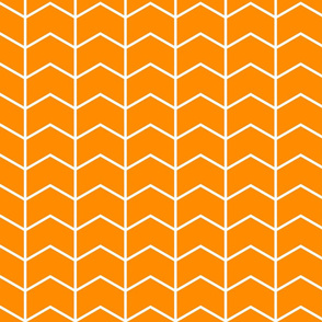 Chevron // orange