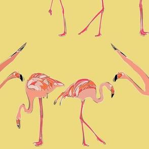 flax flamingos