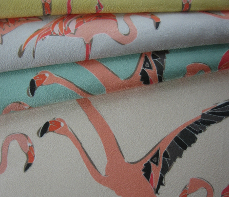 blossom flamingos