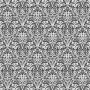 Haeckel Aquatica ~ Coral ~ Soft Grey