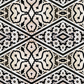 Old Inlaid Marble