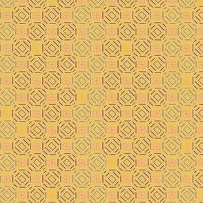 African Violet - mustard