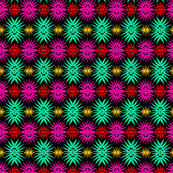 Star Burst Flowers