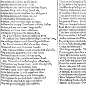 Romeo and Juliet ~ First Folio ~ Black and White