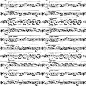 Vintage Music Notes Sheet
