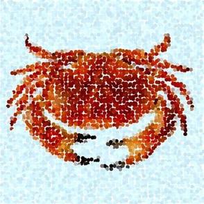 Nautical Red Crab