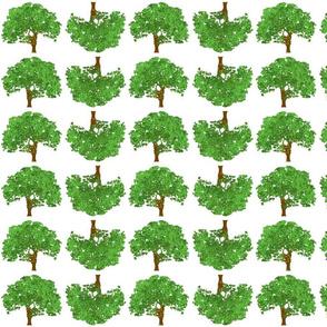 Happy Green Trees