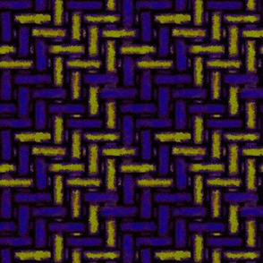 weathered woven houndstooth