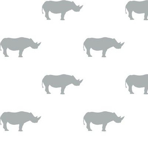 rhino // grey