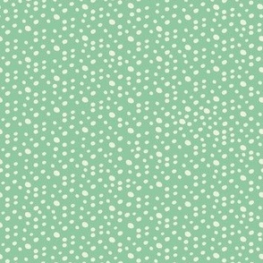 Christmas Dots - Mint