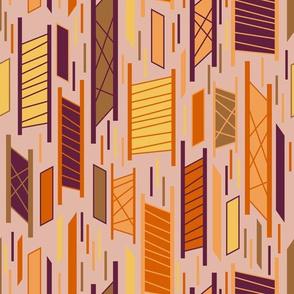 Hip Parallelograms (Earthy Tones)