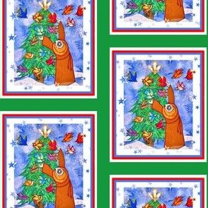 Saint Francis Decorates the Tree