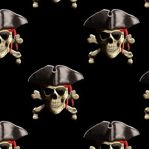 Classic Pirate Skull And Crossbones