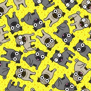 Pug-a-Dot (Yellow)