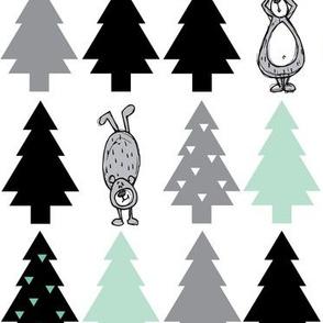 Oh Christmas Tree and bears