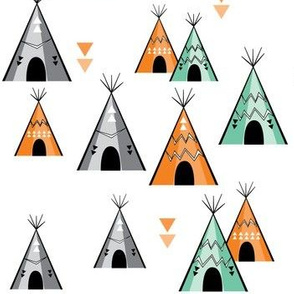 Teepee, scatter