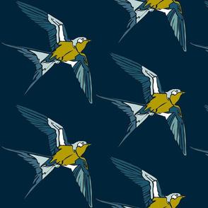 Swift - Navy/Kiwi