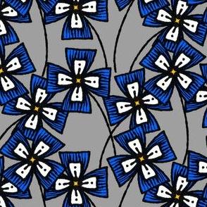 Boxy Clarkia Amoena - Blue