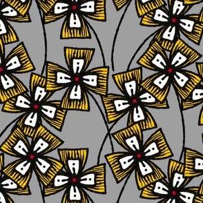 Boxy Clarkia Amoena - Yellow