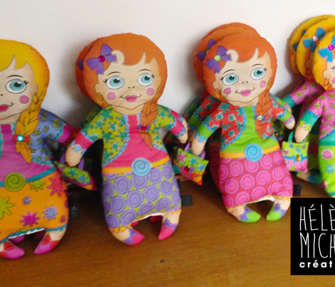 Gipsy dolls (plushie)