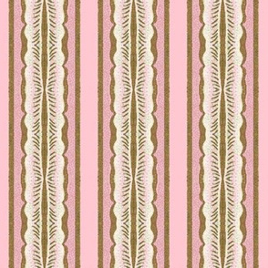 Petit Trianon ~ Gilt Blossom Stripe