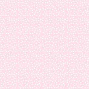 Pale Pink Polka Dot