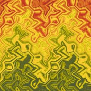 autumn leaf chevron