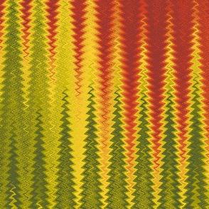 autumn zigzag