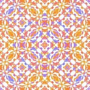 Tiny Flora [Orange & Lavender]