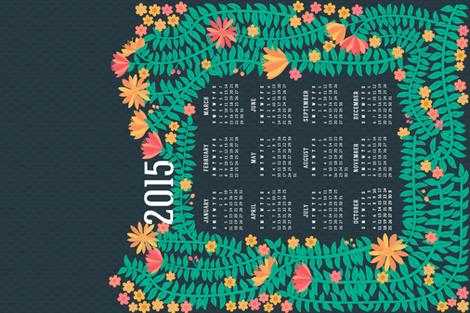 Shirley's Garden 2015 Calendar