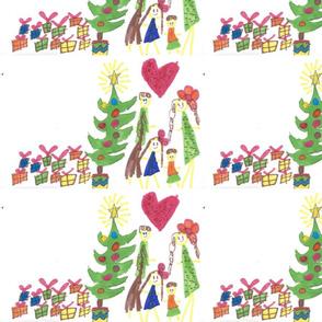 Sila_XMas_Tree_Drawing_with_Family
